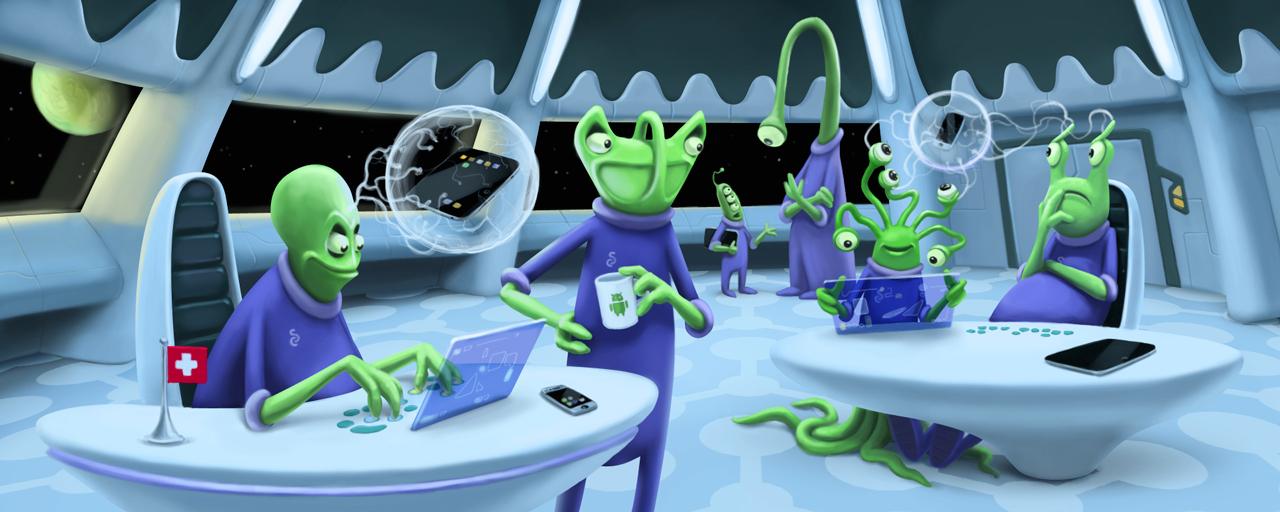 cStudio Aliens